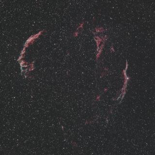網状星雲(Veil Nebula)