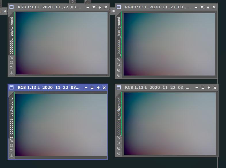 Light画像(コンテナ化)のDBE背景モデル例
