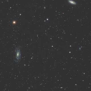 系外銀河 NGC5005 NGC5033