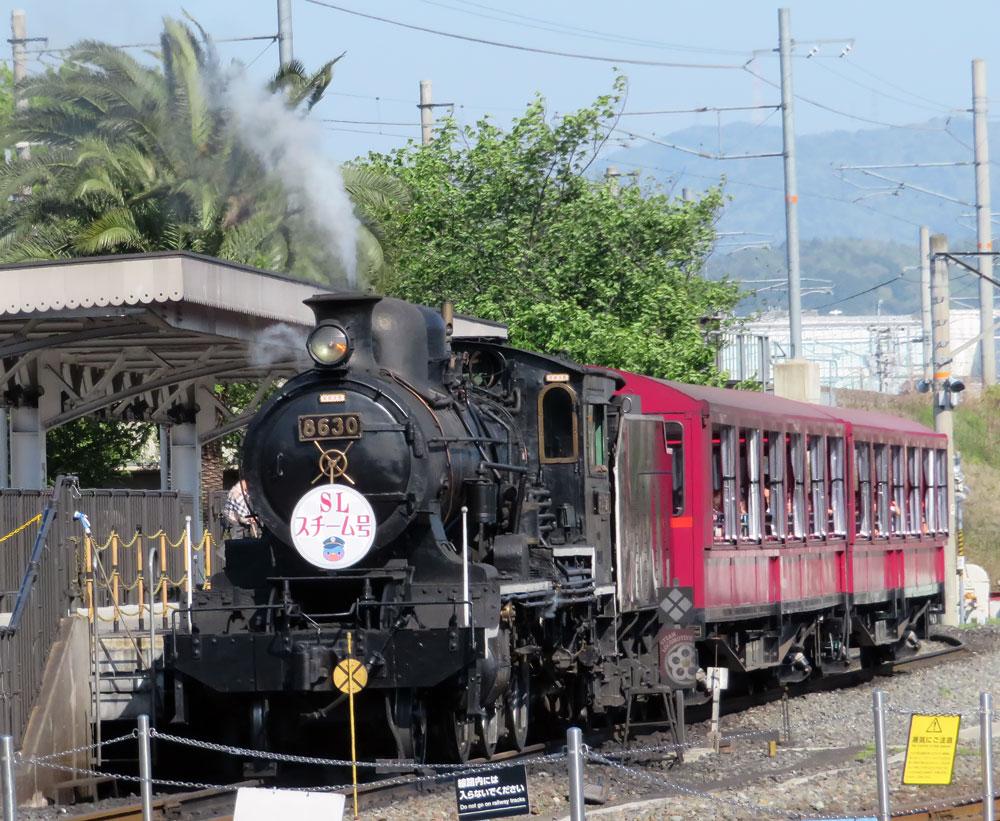 8630号機・京都鉄道博物館 2018年4月