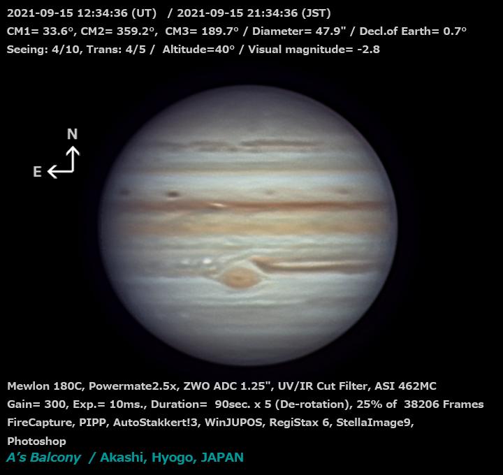 木星 2021/9/15 21:34